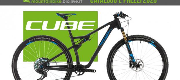 Le mountain bike Cube per il 2020: catalogo e listino prezzi