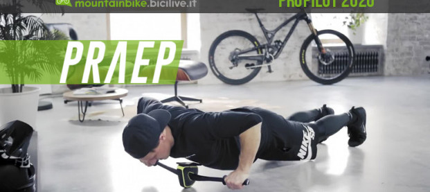 PRAEP ProPilot, un simulatore di MTB per allenare braccia e core