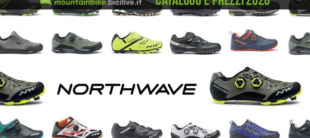 Northwave: il catalogo e il listino prezzi delle scarpe MTB 2020