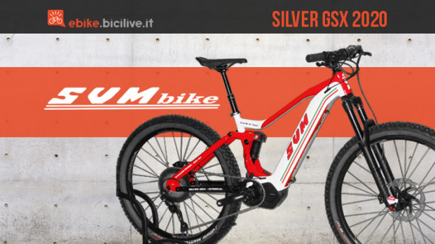 SVM Silver GSX: la nuova eMTB con il DNA da moto