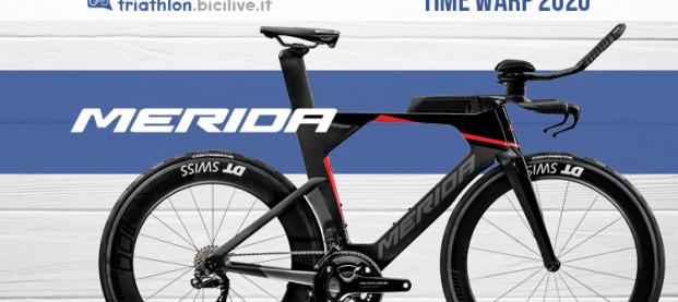Merida Time Warp Tri 2020: tecnologie esclusive per il triathlon