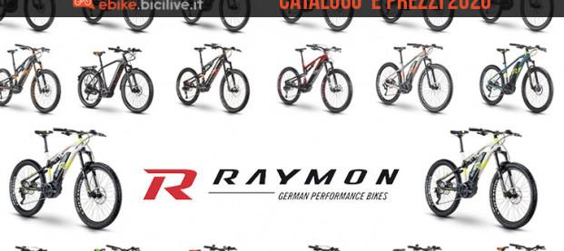 Le bici elettriche 2020 R Raymon: il catalogo e listino prezzi