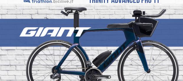 Giant Trinity Advanced Pro TT: una bici tutta integrazione e aerodinamicità