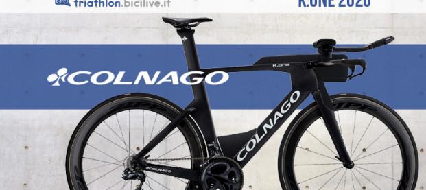 La bici da triathlon Colnago K.one: aerodinamica e velocità