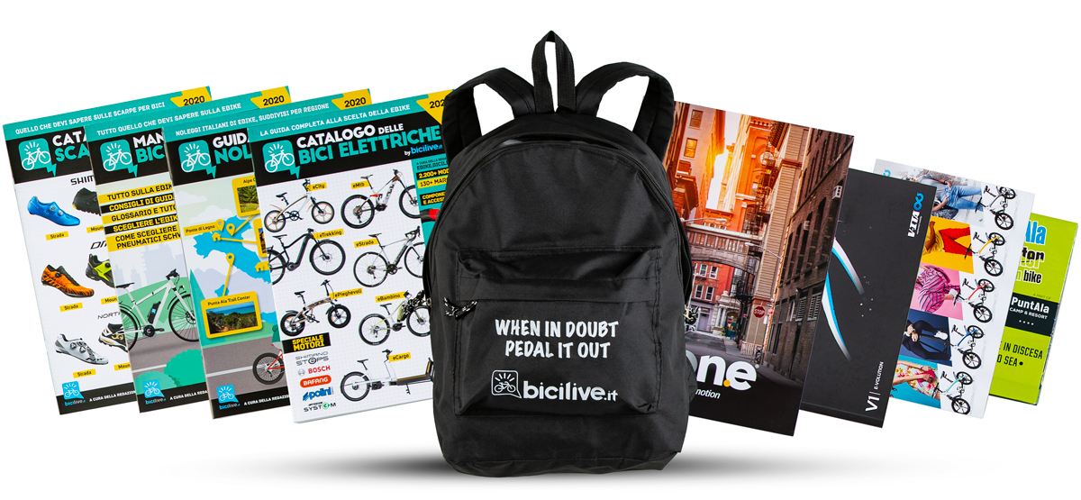 Kit Catalogo delle Bici Elettriche 2020