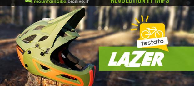 Il test del casco enduro Lazer Revolution FF MIPS con mentoniera staccabile