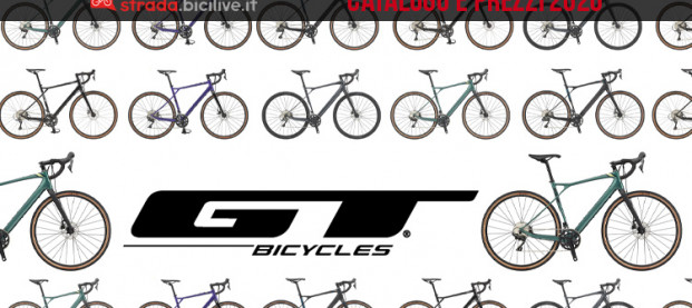 Le biciclette gravel di GT Bicycles: catalogo e listino prezzi 2020