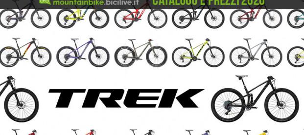 Tutte le mountain bike Trek 2020: catalogo e listino prezzi