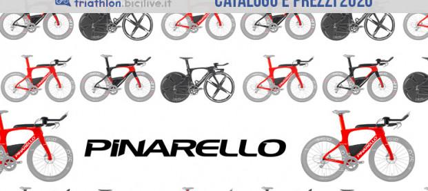 Le bici da triathlon 2020 di Pinarello: catalogo e listino prezzi