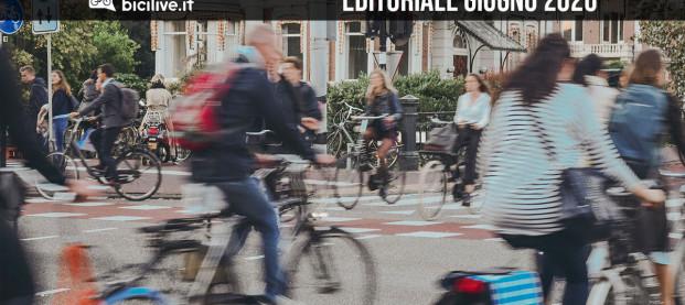 """Editoriale giugno 2020: i ciclisti latenti e la """"bici ritrovata"""""""