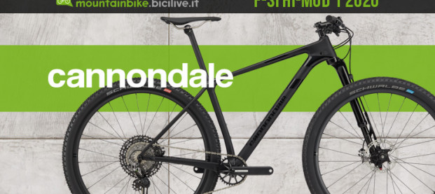 Cannondale F-Si Hi-MOD 1 2020, una mountain bike XC all'avanguardia