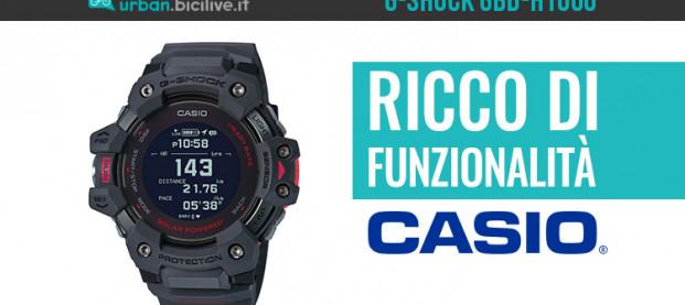 G-Shock GBD-H1000: nuovo orologio ricco di funzionalità