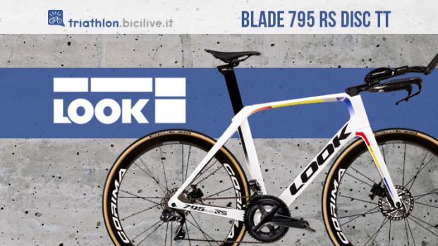Look Blade 795 RS Disc TT: la novità triathlon dell'azienda francese