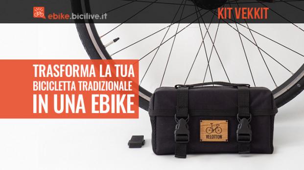 Vekkit: il nuovo kit per e-bike economico, leggero e fatto a mano