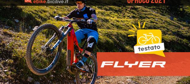 Test nuova FLYER Uproc6 8.70 2021: telaio in carbonio e batteria integrata