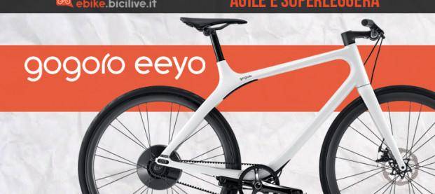 Ecco l'innovativa Gogoro Eeyo, l'ebike con Smartwheel