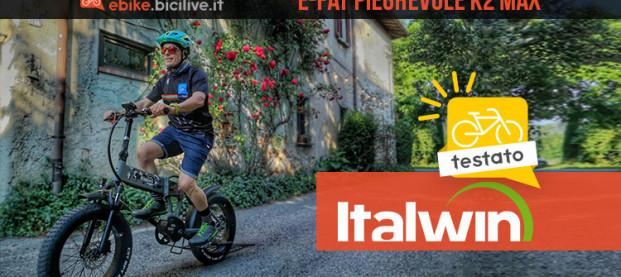 Il test della Italwin K2 MAX: e-fat pieghevole con motore centrale da 90 Nm