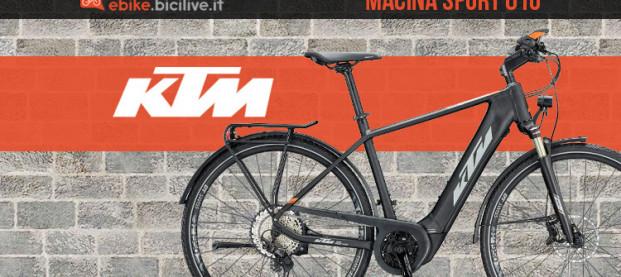La KTM Macina Sport 610: una bici e-trekking dalla massima versatilità