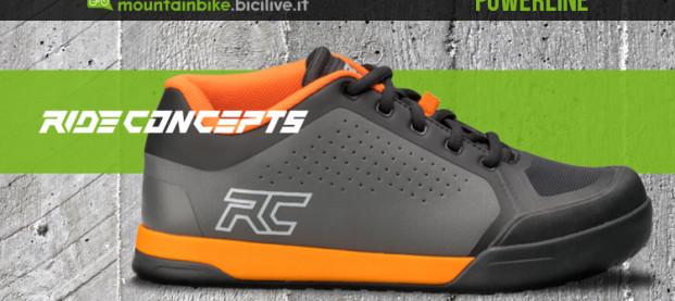 Ride Concepts Powerline, le calzature tecniche MTB che non badano a compromessi