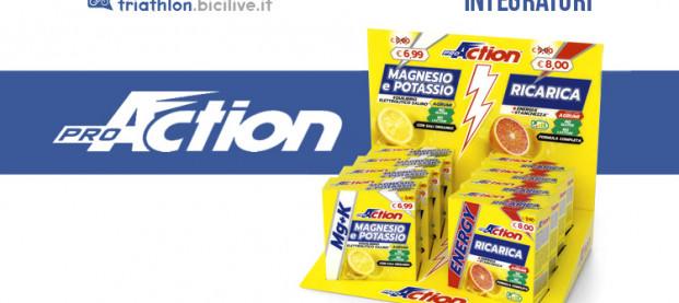 Nuovi integratori ProAction Magnesio&Potassio e Ricarica