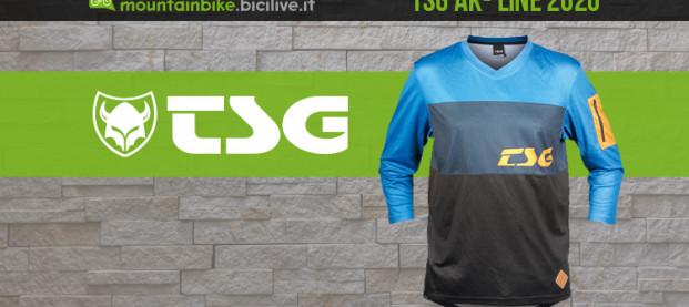 La nuova linea di abbigliamento tecnico MTB firmata TSG