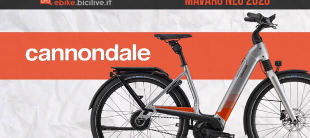 Mavaro Neo: la nuova e-bike urban di Cannondale