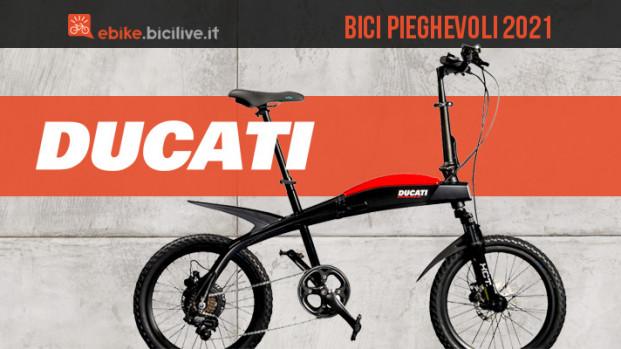 Da Ducati 3 nuove bici elettriche pieghevoli per la città: Urban-E, SCR-E e SCR-E Sport