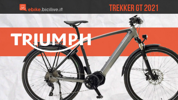 Triumph Trekker GT, lo stile inglese in una e-bike urban/trekking