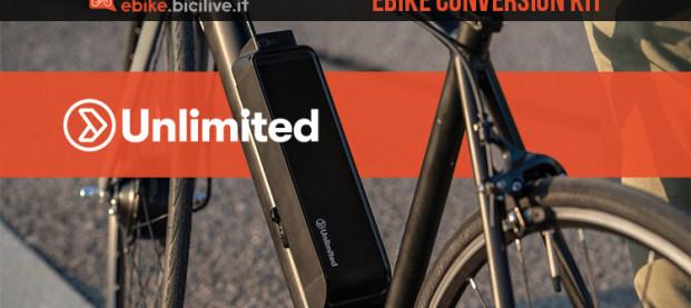 Unlimited eBike Conversion Kit: il primo kit wireless al mondo per ebike