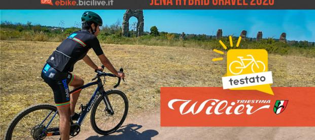 Il test della Wilier Jena Hybrid: una e-bike gravel ad alte prestazioni