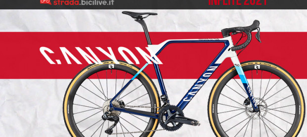 Canyon Inflite 2021: rinnovata per il ciclocross