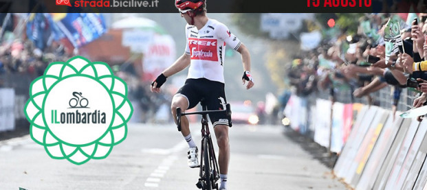 Giro di Lombardia 2020: il 15 agosto la 114ª edizione