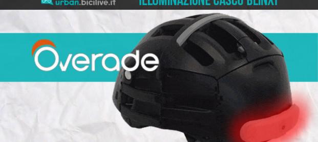 Overade Blinxi: l'illuminazione smart per il casco dei ciclisti urbani