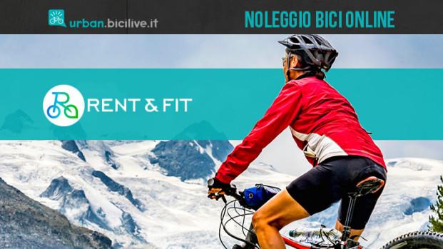 Rent&Fit, la piattaforma online per il noleggio di biciclette