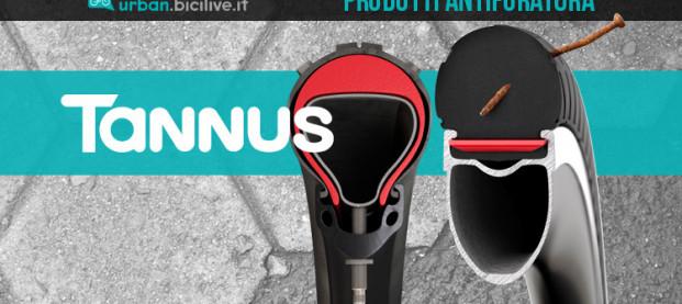 Con i prodotti Tannus Italia mai più bici con gomme a terra