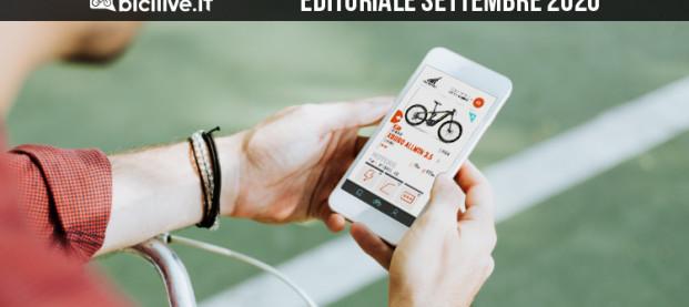 Editoriale settembre 2020: BiciLive App, il punto di partenza per cercare e trovare la tua prossima ebike