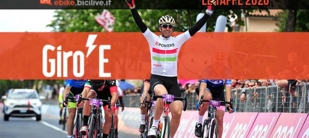 Giro-E 2020: il Giro d'Italia in ebike in venti tappe