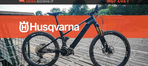 Nuova eMTB Husqvarna MC7 2021: più aggressiva e con motore Shimano EP8