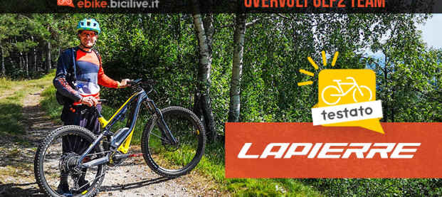Il test della eMTB Lapierre Overvolt GLP2 Elite: design unico e alte prestazioni