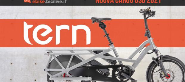 GSD 2021: la nuova versione della e-bike cargo di Tern
