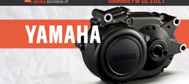 Yamaha Serie PW CE 2021: il motore più leggero del brand