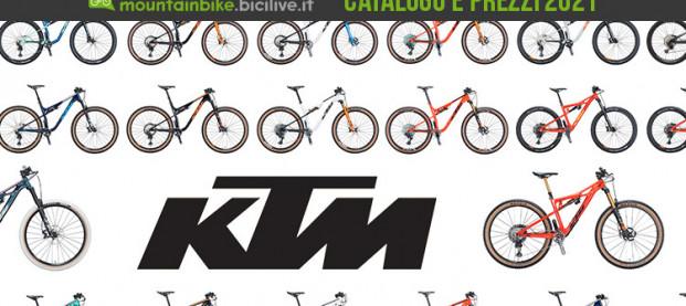 Le mountain bike KTM del 2021: catalogo e listino prezzi