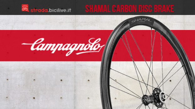 Le nuove ruote endurance Campagnolo Shamal Carbon Disc Brake