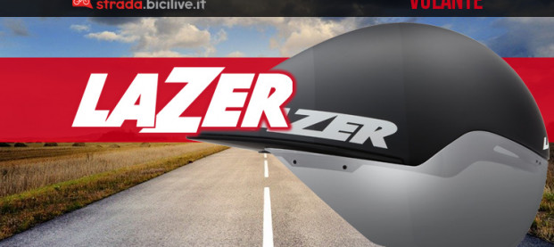 Lazer Volante 2021: il casco da cronometro modellato dall'aria