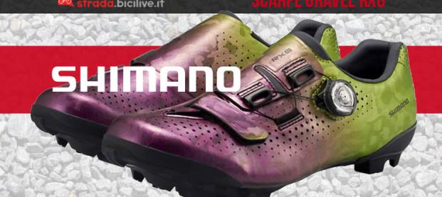Shimano RX8: le nuove calzature per il gravel