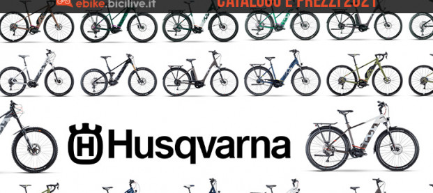 Husqvarna: il catalogo e il listino prezzi delle e-bike 2021
