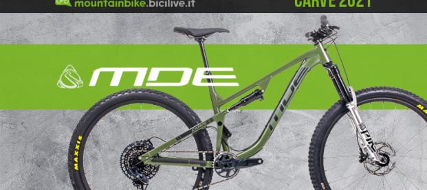 """MDE Carve, il trail riding aggressivo """"cucito"""" a mano in italia"""