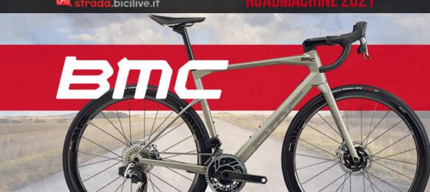 BMC Roadmachine 2021: la gamma endurance ad alte prestazioni
