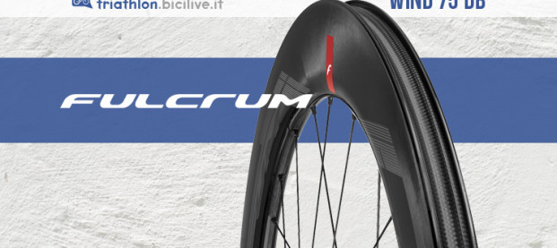 Fulcrum Wind 75 DB: le nuove ruote aerodinamiche ad alto profilo per il triathlon