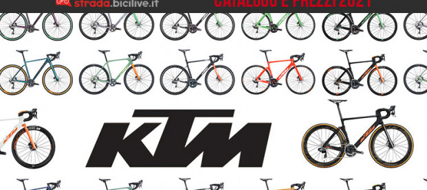 Le bici da strada e gravel 2021 di KTM: catalogo e listino prezzi